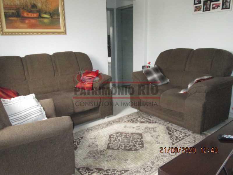 IMG_1443 - Excelente Apartamento, 2quartos, dependência completa, vaga de garagem na escritura - Penha - PAAP23937 - 4