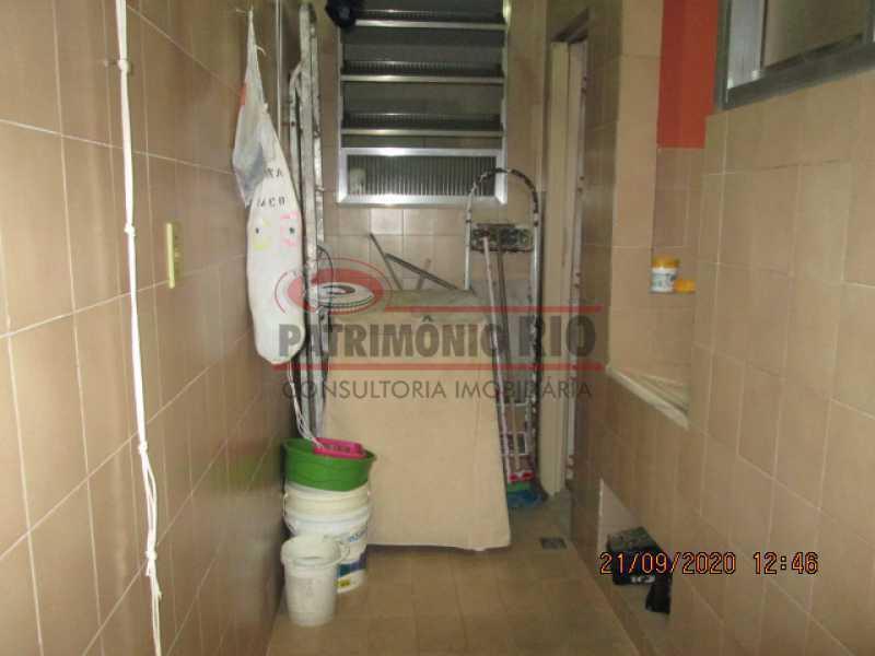 IMG_1453 - Excelente Apartamento, 2quartos, dependência completa, vaga de garagem na escritura - Penha - PAAP23937 - 14