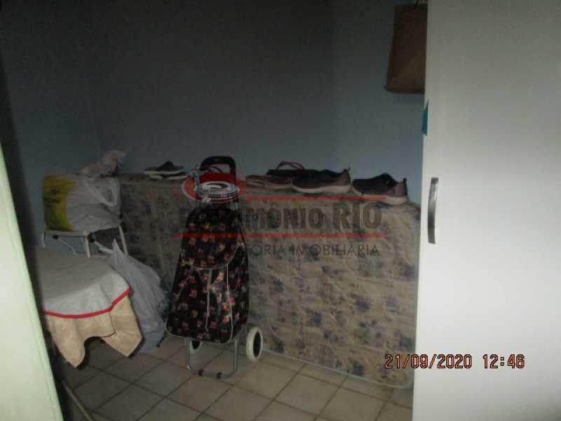 IMG_1455 - Excelente Apartamento, 2quartos, dependência completa, vaga de garagem na escritura - Penha - PAAP23937 - 16