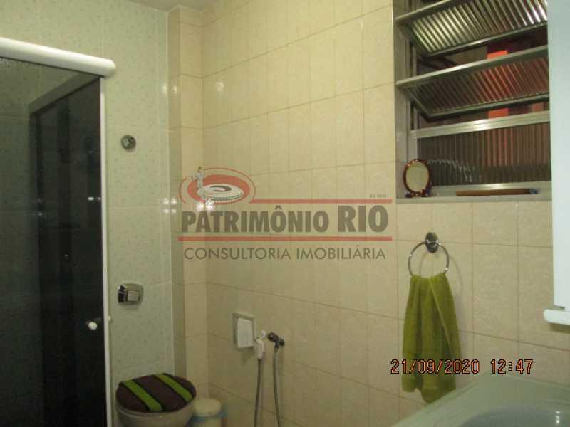 IMG_1458 - Excelente Apartamento, 2quartos, dependência completa, vaga de garagem na escritura - Penha - PAAP23937 - 19