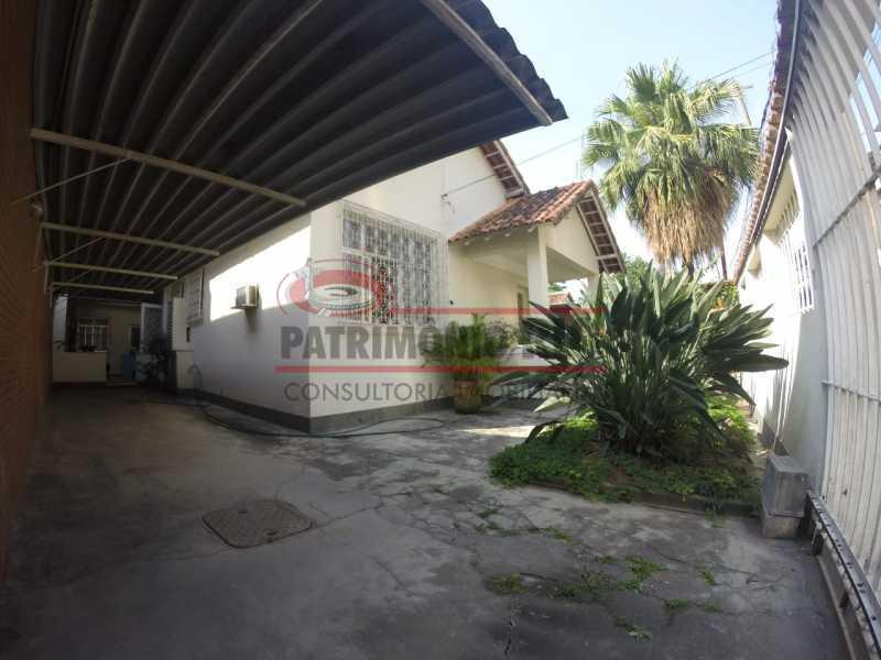 1 - Fachada da casa. - Casa Linear em terreno Único - PACA20553 - 3