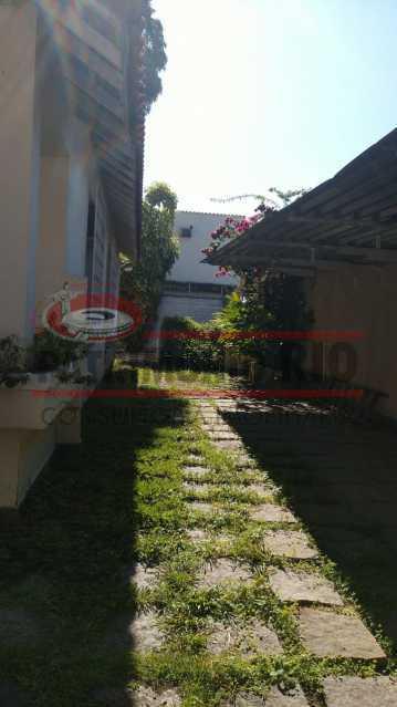 2 - lateral. - Casa Linear em terreno Único - PACA20553 - 4