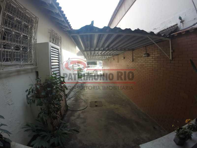 3 - lateral. - Casa Linear em terreno Único - PACA20553 - 5