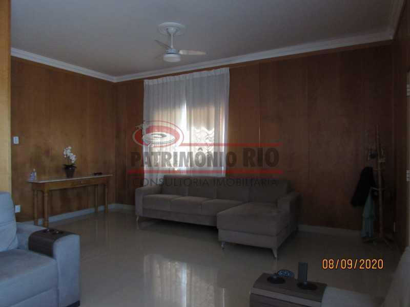 3 - Casa Cinematográfica em Braz de Pina, única no terreno(340M²) com varandão, 3quartos, suíte, terraço com churrasqueira - PACA30516 - 4