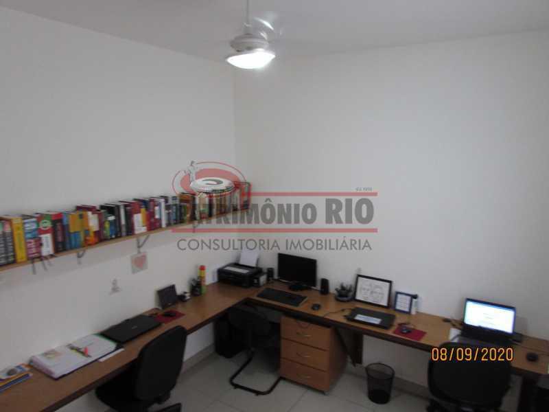 5 - Casa Cinematográfica em Braz de Pina, única no terreno(340M²) com varandão, 3quartos, suíte, terraço com churrasqueira - PACA30516 - 6