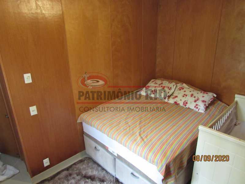 8 - Casa Cinematográfica em Braz de Pina, única no terreno(340M²) com varandão, 3quartos, suíte, terraço com churrasqueira - PACA30516 - 9