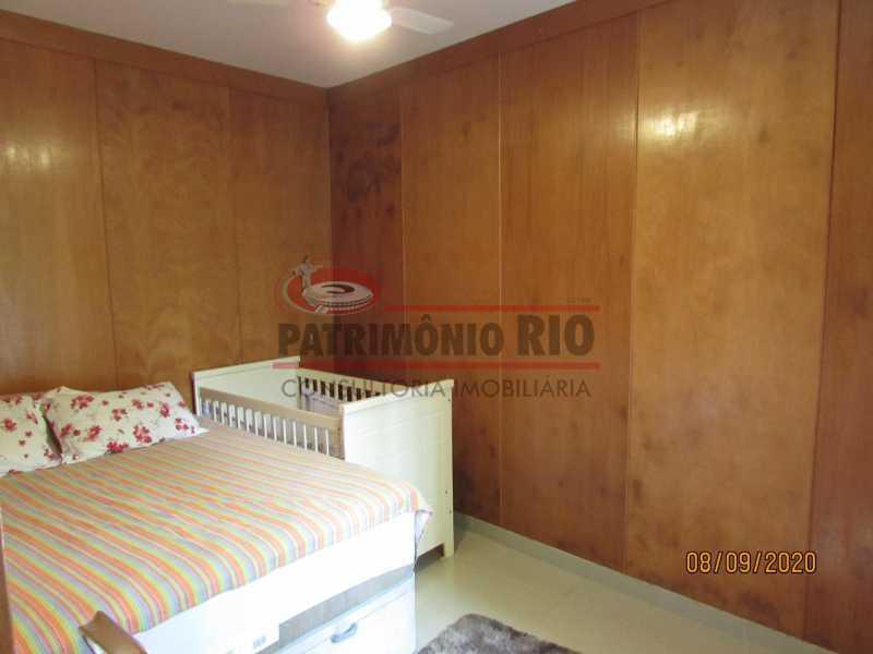 9 - Casa Cinematográfica em Braz de Pina, única no terreno(340M²) com varandão, 3quartos, suíte, terraço com churrasqueira - PACA30516 - 10