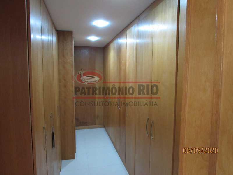 10 - Casa Cinematográfica em Braz de Pina, única no terreno(340M²) com varandão, 3quartos, suíte, terraço com churrasqueira - PACA30516 - 11
