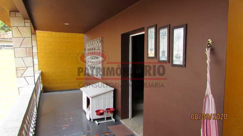 16 - Casa Cinematográfica em Braz de Pina, única no terreno(340M²) com varandão, 3quartos, suíte, terraço com churrasqueira - PACA30516 - 17