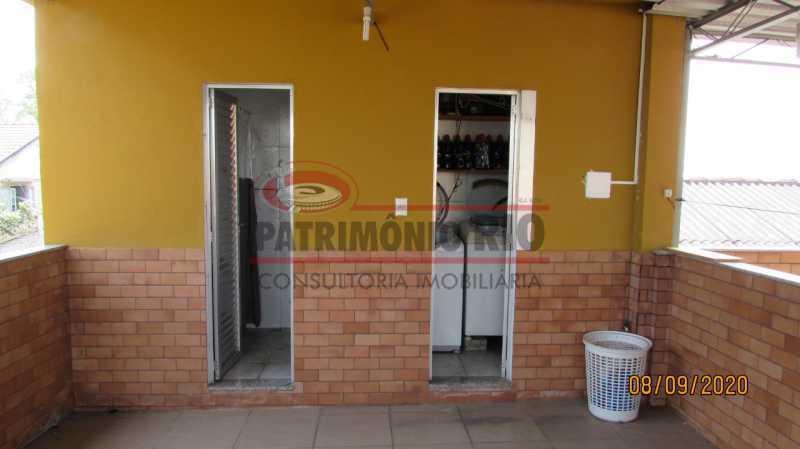 18 - Casa Cinematográfica em Braz de Pina, única no terreno(340M²) com varandão, 3quartos, suíte, terraço com churrasqueira - PACA30516 - 19