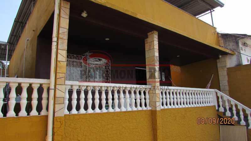21 - Casa Cinematográfica em Braz de Pina, única no terreno(340M²) com varandão, 3quartos, suíte, terraço com churrasqueira - PACA30516 - 22