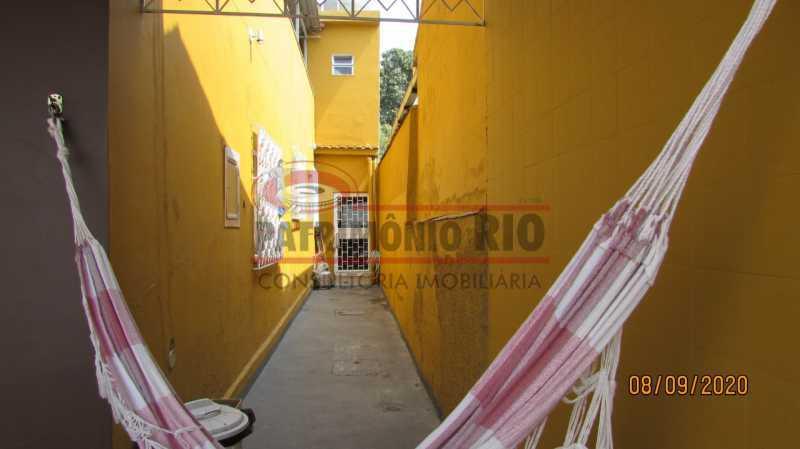 23 - Casa Cinematográfica em Braz de Pina, única no terreno(340M²) com varandão, 3quartos, suíte, terraço com churrasqueira - PACA30516 - 24