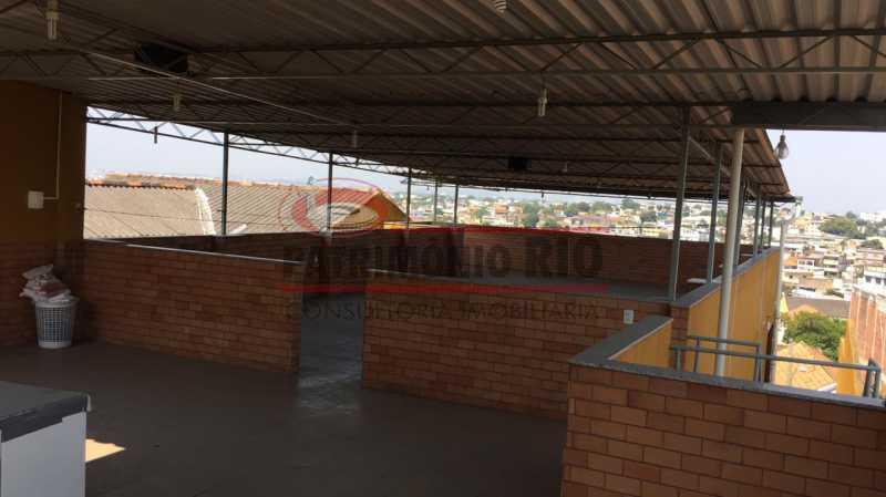 30. - Casa Cinematográfica em Braz de Pina, única no terreno(340M²) com varandão, 3quartos, suíte, terraço com churrasqueira - PACA30516 - 31