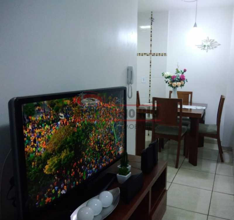 3 - Excelente Casa Triplex ( Condomínio fechado) em Rocha Miranda, com varanda, 2quartos, vaga e terraço - PACN20127 - 4