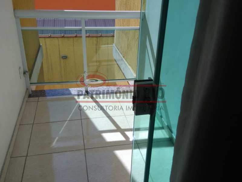 10 - Excelente Casa Triplex ( Condomínio fechado) em Rocha Miranda, com varanda, 2quartos, vaga e terraço - PACN20127 - 11
