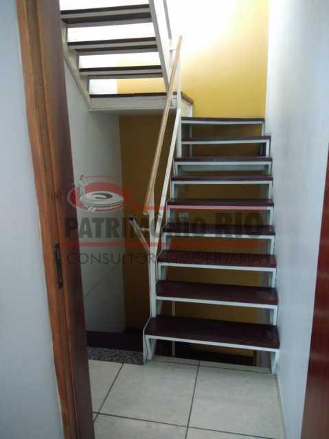 11 - Excelente Casa Triplex ( Condomínio fechado) em Rocha Miranda, com varanda, 2quartos, vaga e terraço - PACN20127 - 12