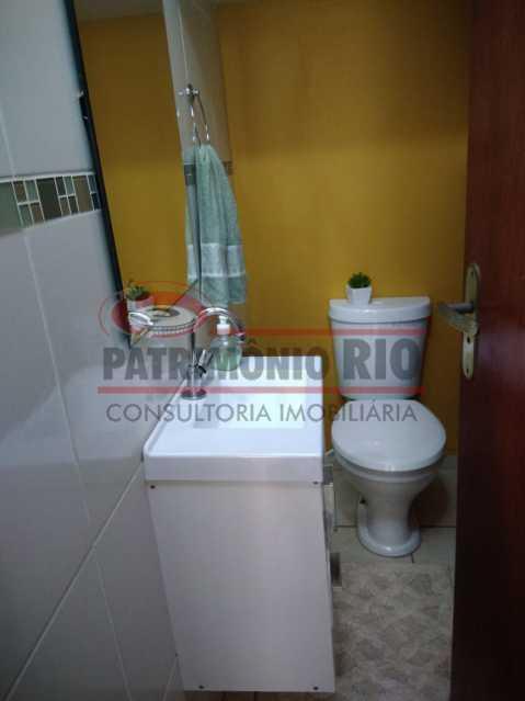 12 - Excelente Casa Triplex ( Condomínio fechado) em Rocha Miranda, com varanda, 2quartos, vaga e terraço - PACN20127 - 13