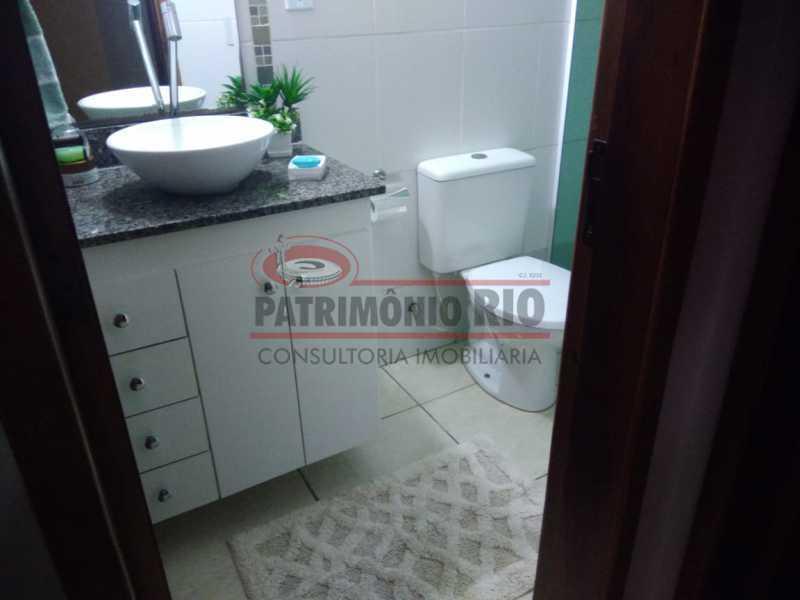 13 - Excelente Casa Triplex ( Condomínio fechado) em Rocha Miranda, com varanda, 2quartos, vaga e terraço - PACN20127 - 14
