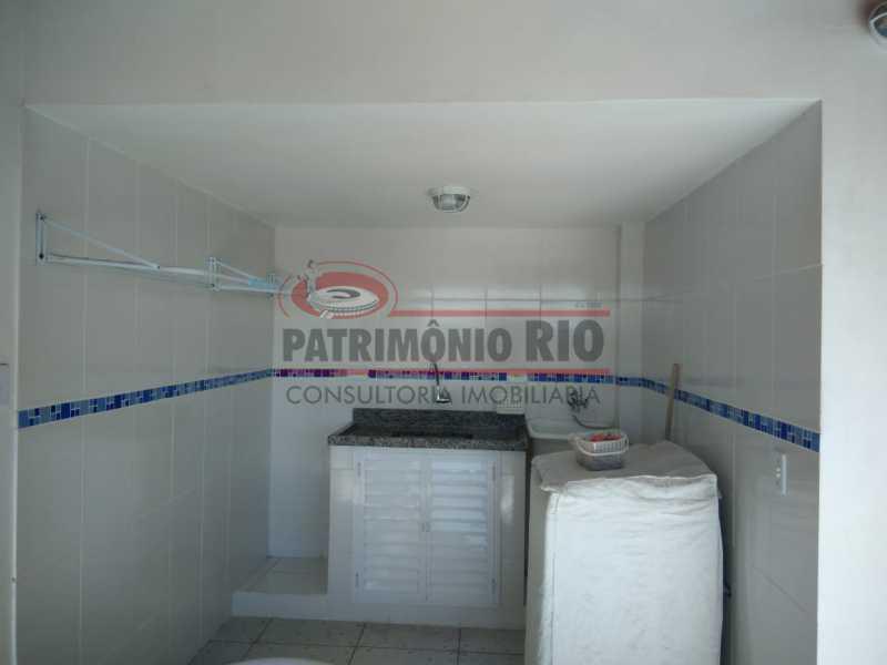 15 - Excelente Casa Triplex ( Condomínio fechado) em Rocha Miranda, com varanda, 2quartos, vaga e terraço - PACN20127 - 16