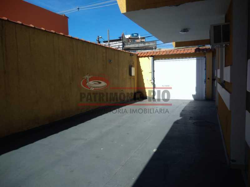 20 - Excelente Casa Triplex ( Condomínio fechado) em Rocha Miranda, com varanda, 2quartos, vaga e terraço - PACN20127 - 21