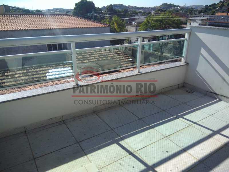 21 - Excelente Casa Triplex ( Condomínio fechado) em Rocha Miranda, com varanda, 2quartos, vaga e terraço - PACN20127 - 22