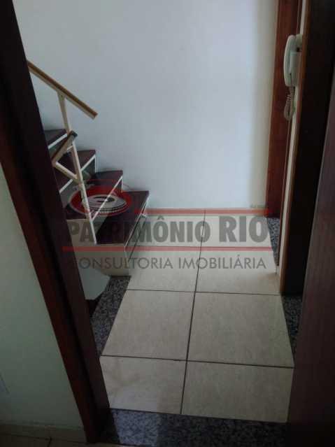 23 - Excelente Casa Triplex ( Condomínio fechado) em Rocha Miranda, com varanda, 2quartos, vaga e terraço - PACN20127 - 24