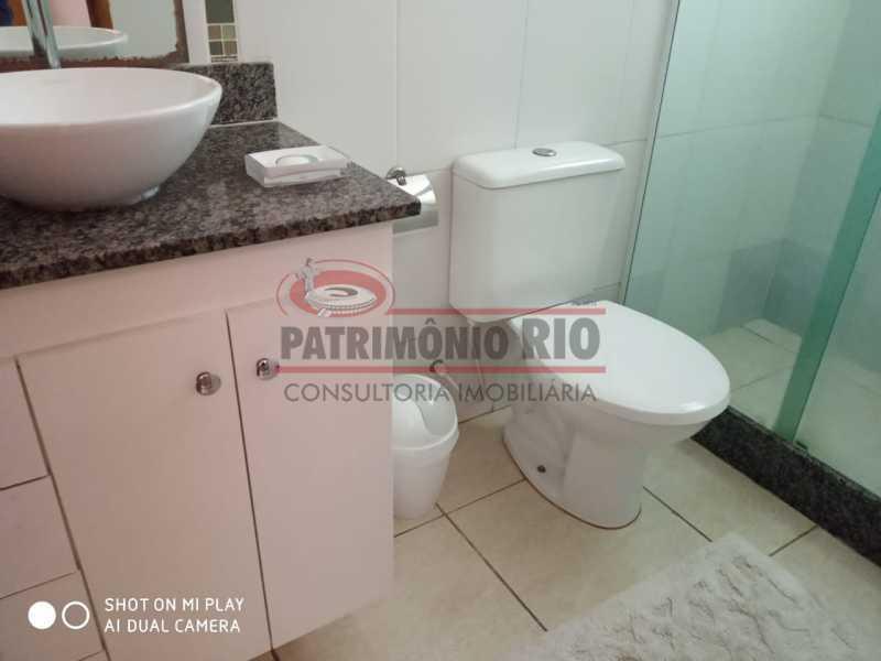 25 - Excelente Casa Triplex ( Condomínio fechado) em Rocha Miranda, com varanda, 2quartos, vaga e terraço - PACN20127 - 26