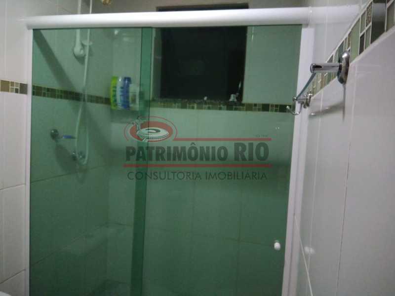26 - Excelente Casa Triplex ( Condomínio fechado) em Rocha Miranda, com varanda, 2quartos, vaga e terraço - PACN20127 - 27