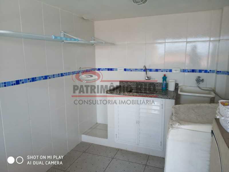 27 - Excelente Casa Triplex ( Condomínio fechado) em Rocha Miranda, com varanda, 2quartos, vaga e terraço - PACN20127 - 28