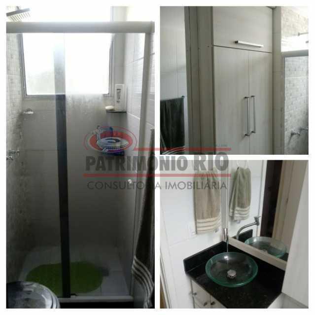 13 - Excelente Apartamento em Tomas Coelho com 2quartos, vaga de garagem, piscina, churrasqueira e play - PAAP23966 - 14