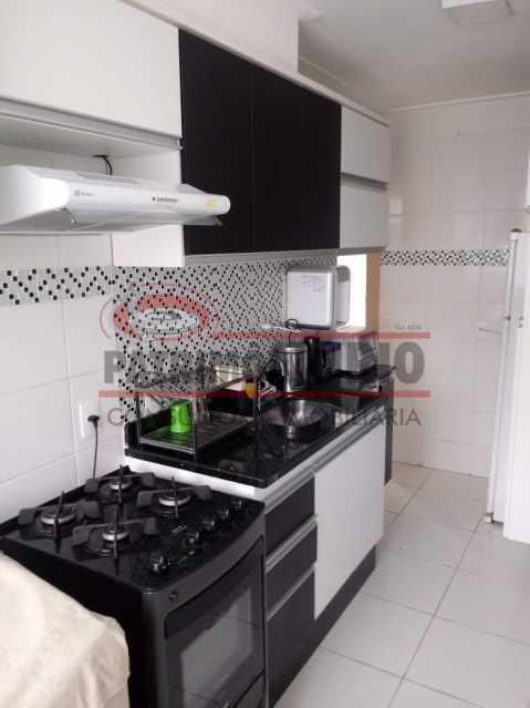 16 - Excelente Apartamento em Tomas Coelho com 2quartos, vaga de garagem, piscina, churrasqueira e play - PAAP23966 - 17