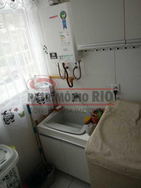 18 - Excelente Apartamento em Tomas Coelho com 2quartos, vaga de garagem, piscina, churrasqueira e play - PAAP23966 - 19
