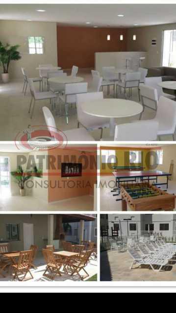 19 - Excelente Apartamento em Tomas Coelho com 2quartos, vaga de garagem, piscina, churrasqueira e play - PAAP23966 - 20