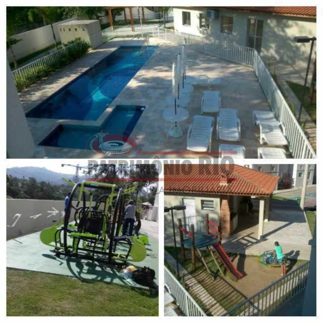 29 - Excelente Apartamento em Tomas Coelho com 2quartos, vaga de garagem, piscina, churrasqueira e play - PAAP23966 - 30