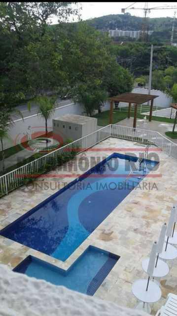 30 - Excelente Apartamento em Tomas Coelho com 2quartos, vaga de garagem, piscina, churrasqueira e play - PAAP23966 - 31