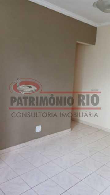 2 - Apartamento vazio no coração do Méier, 2quartos dependência e vaga e desocupado - PAAP23967 - 3
