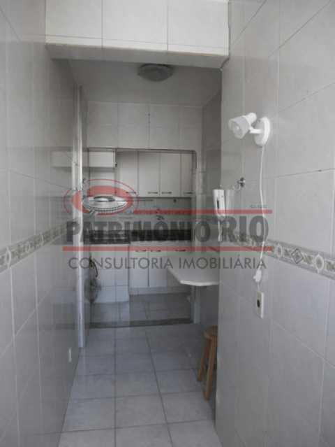 15 - Apartamento vazio no coração do Méier, 2quartos dependência e vaga e desocupado - PAAP23967 - 17