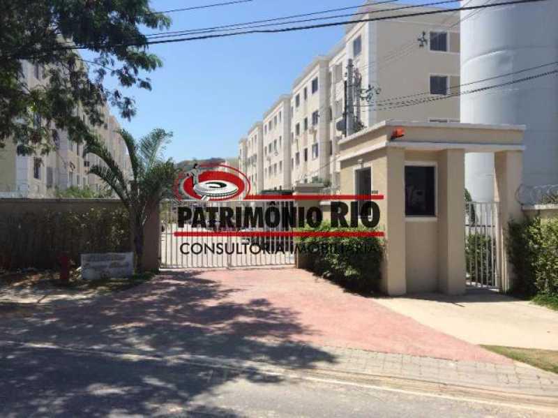 1 - Bom Apartamento em Rocha Miranda, Condomínio Parque Rivoli com 2quartos, closet e vaga de garagem - PAAP23981 - 1