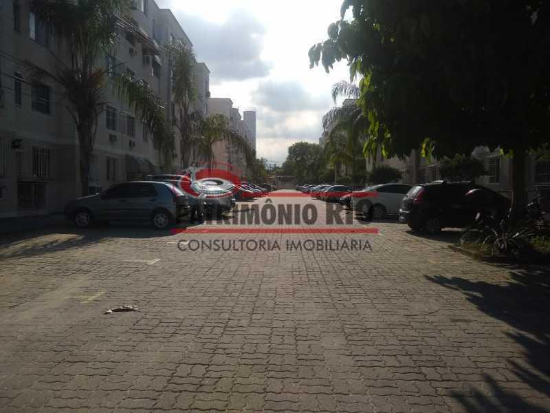 2 - Bom Apartamento em Rocha Miranda, Condomínio Parque Rivoli com 2quartos, closet e vaga de garagem - PAAP23981 - 3