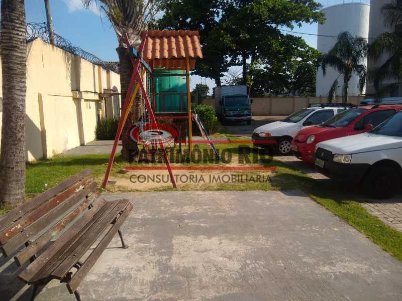 8 - Bom Apartamento em Rocha Miranda, Condomínio Parque Rivoli com 2quartos, closet e vaga de garagem - PAAP23981 - 9
