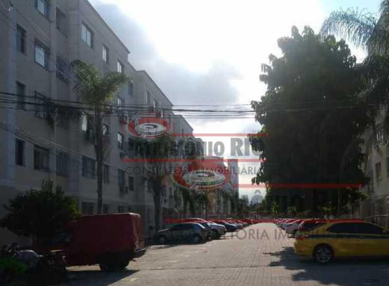 15 - Bom Apartamento em Rocha Miranda, Condomínio Parque Rivoli com 2quartos, closet e vaga de garagem - PAAP23981 - 16