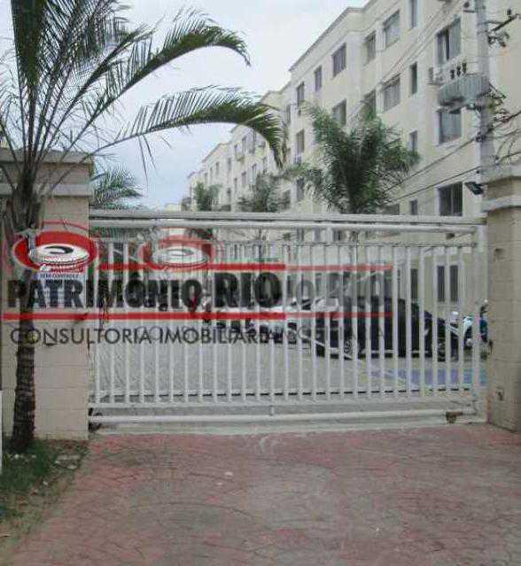 17 - Bom Apartamento em Rocha Miranda, Condomínio Parque Rivoli com 2quartos, closet e vaga de garagem - PAAP23981 - 18