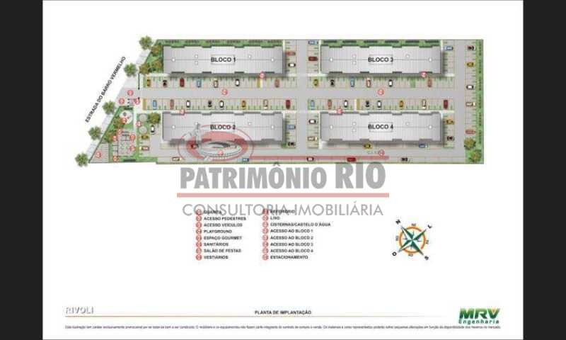20 - Bom Apartamento em Rocha Miranda, Condomínio Parque Rivoli com 2quartos, closet e vaga de garagem - PAAP23981 - 21