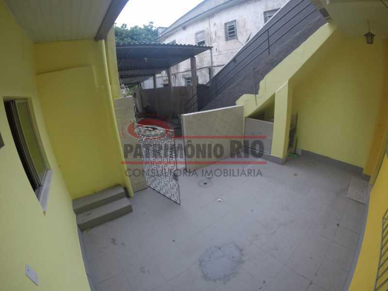 1 - varanda na frente da casa  - Casa 2quartos com vaga juntinho do comércio - PACA20563 - 1