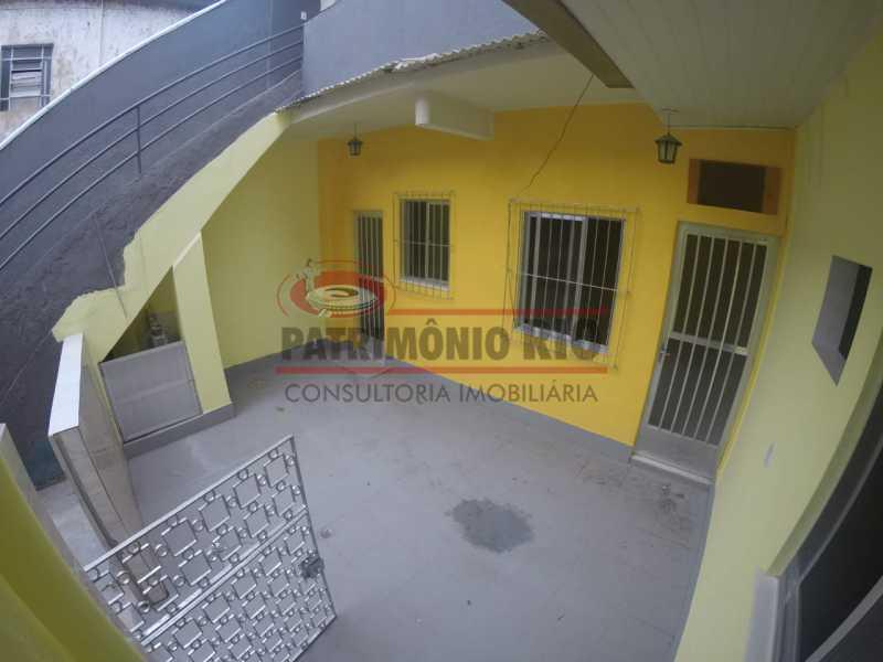 1 - varanda na frente da casa  - Casa 2quartos com vaga juntinho do comércio - PACA20563 - 3