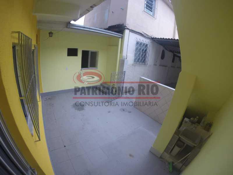 1 - varanda na frente da casa  - Casa 2quartos com vaga juntinho do comércio - PACA20563 - 4