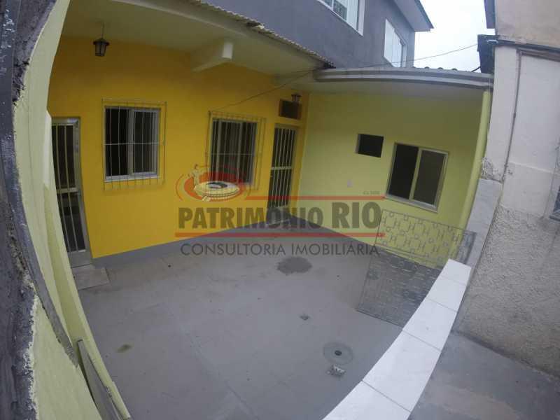 1 - varanda na frente da casa  - Casa 2quartos com vaga juntinho do comércio - PACA20563 - 5