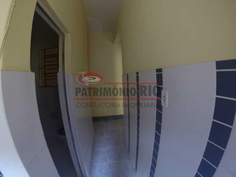 6 - circulação 2. - Casa 2quartos com vaga juntinho do comércio - PACA20563 - 21