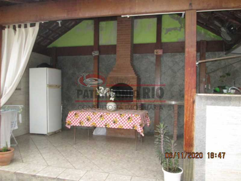 IMG_1647 - Espetacular Casa Duplex, 2quartos ( 1suite master), piscina, 2vagas garagem Vista Alegre - PACA20565 - 8