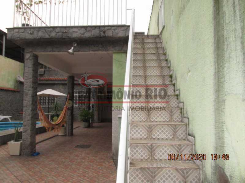 IMG_1652 - Espetacular Casa Duplex, 2quartos ( 1suite master), piscina, 2vagas garagem Vista Alegre - PACA20565 - 29